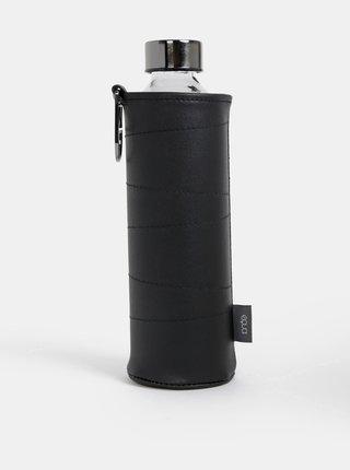 Skleněná láhev v černém obalu EQUA Graphite