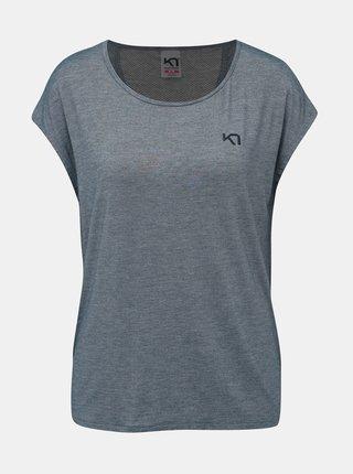 Modré športové tričko Kari Traa Celina Tee