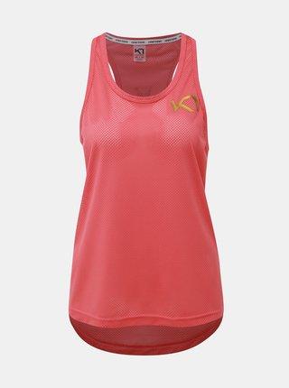 Rúžový športový top Kari Traa Vilde
