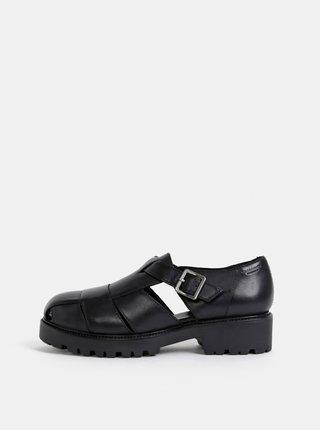 Černé dámské kožené sandály Vagabond Kenova