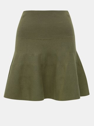 Kaki svetrová sukňa VILA Bekka