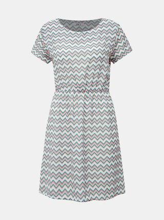 Zeleno-biele vzorované šaty Haily´s Evi