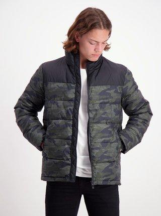 Jachete de iarna pentru barbati Shine Original - verde, negru