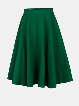 Zelená kolesová sukňa MONLEMON Lantern