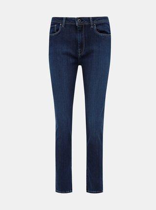 Tmavě modré dámské skinny fit džíny Pepe Jeans Cher High