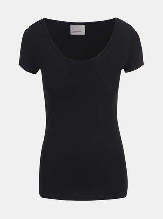 Tricou negru basic VERO MODA Maxi My