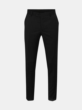 Čierne oblekové vlnené nohavice Good Son