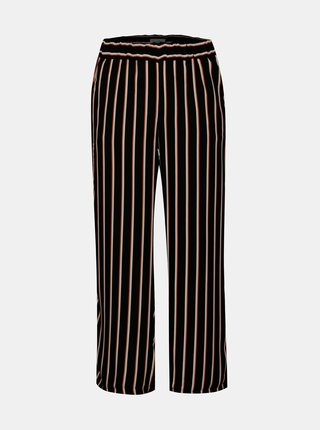 Pantaloni evazati cu dungi si talie elastica  Blendshe Nora