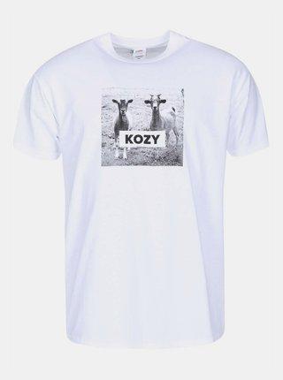 Biele pánske tričko ZOOT Originál KOZY