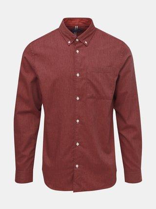 Camasi casual pentru barbati Jack & Jones - rosu