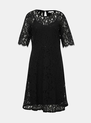 Černé krajkové šaty VILA Brielle