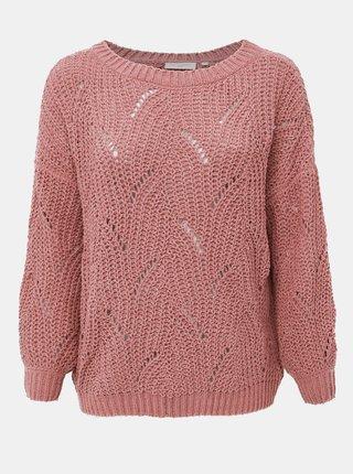 Staroružový sveter ONLY CARMAKOMA Yasmine