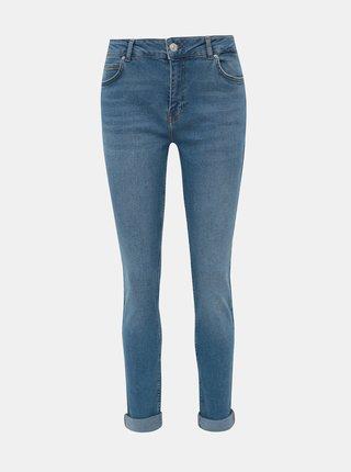 Modré tapered fit džíny Noisy May Katie