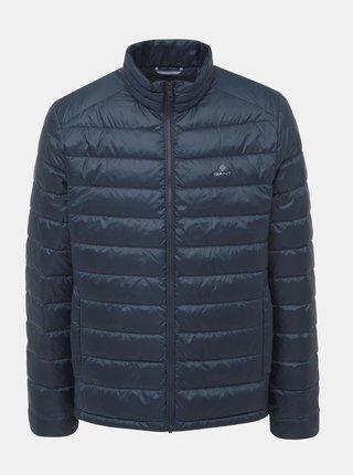 Tmavě modrá pánská zimní bunda GANT