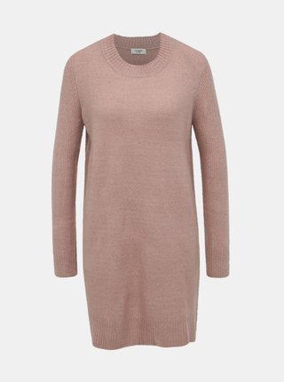 Starorůžové svetrové šaty Jacqueline de Yong Crea