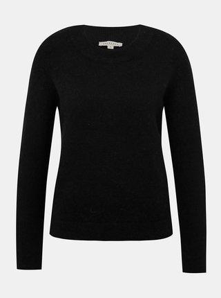 Černý basic vlněný svetr Selected Femme Sia