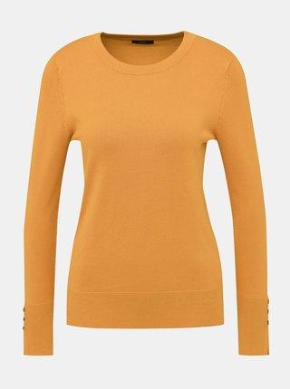 Horčicový sveter M&Co