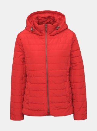 Červená dámská prošívaná bunda ZOOT