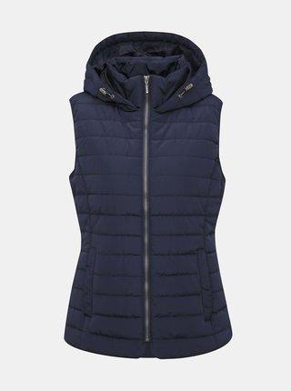 Tmavě modrá dámská prošívaná vesta ZOOT