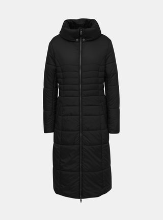 Čierny prešívaný kabát ZOOT