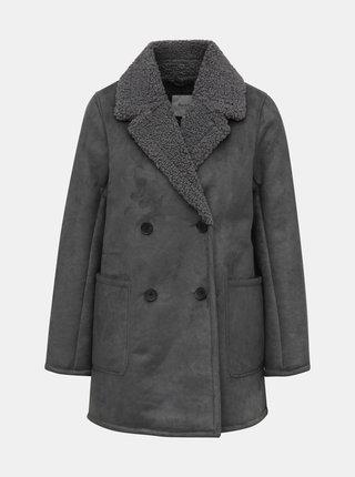 Šedý dámský kabát Pepe Jeans Patricia