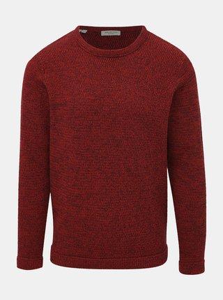 Červený basic svetr Selected Homme Victor