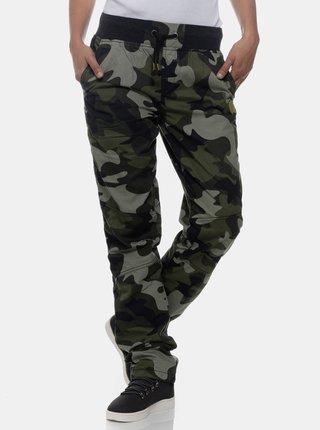 Khaki dámské maskáčové kalhoty SAM 73