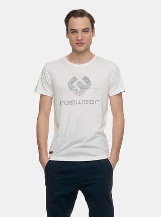 Bílé pánské tričko s potiskem Ragwear Charles