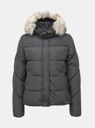 Šedá prešívaná zimná bunda ONLY North