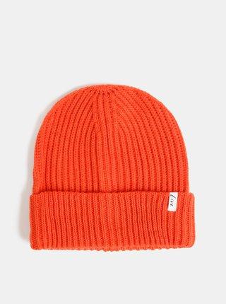 Oranžová čepice ONLY Maja