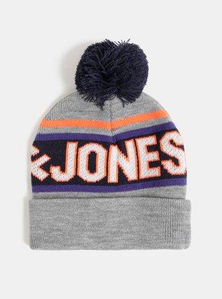 Šedá čapica Jack & Jones Mac