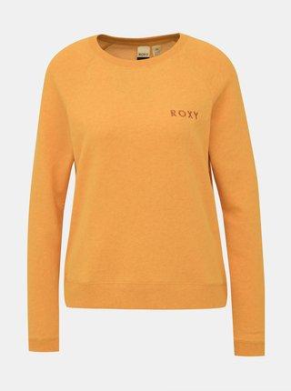 Žltá mikina Roxy Stay Together