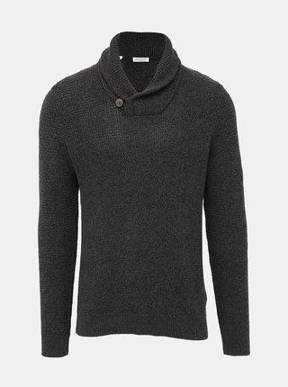 Tmavošedý sveter Selected Homme Richard