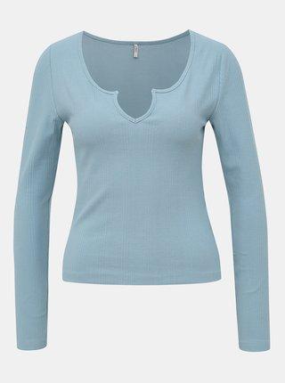 Světle modré tričko ONLY Lelina