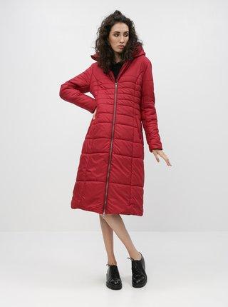 Červený dámský prošívaný kabát ZOOT