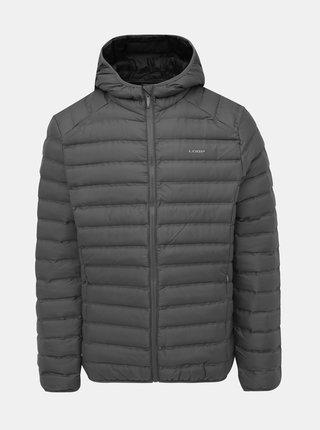 Šedá pánská prošívaná voděodpudivá zimní bunda LOAP Iten