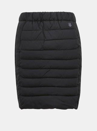 Černá prošívaná voděodpudivá sukně LOAP Irfina