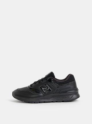 Čierne dámske kožené tenisky New Balance 997H