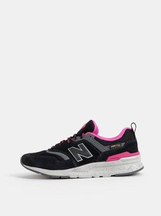 Čierne dámske semišové tenisky New Balance 997H