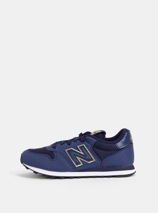 Tmavě modré dámské tenisky New Balance 500