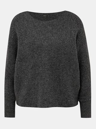 Tmavošedý sveter ONLY Daniella