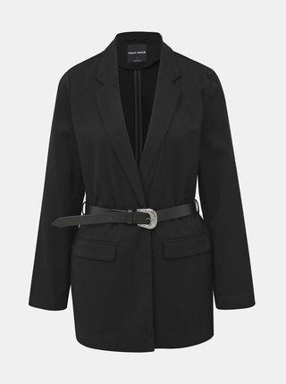 Černé sako s páskem TALLY WEiJL