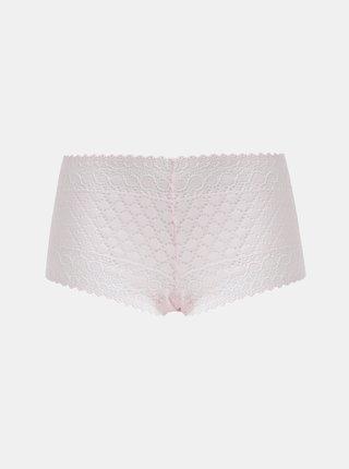 Světle růžové krajkové kalhotky VILA