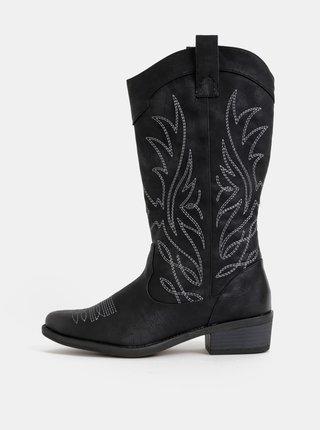 Čierne dámske čižmy Haily´s Monica