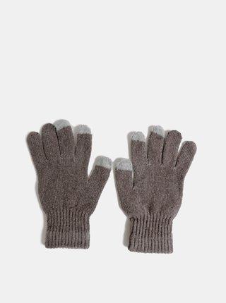 Šedé dámske rukavice Haily´s Sally