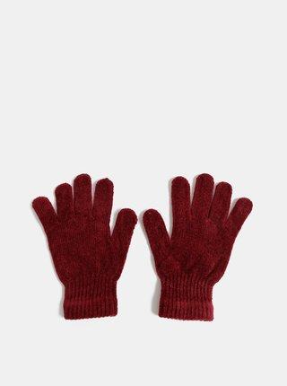 Vínové dámské rukavice Haily´s Jenny