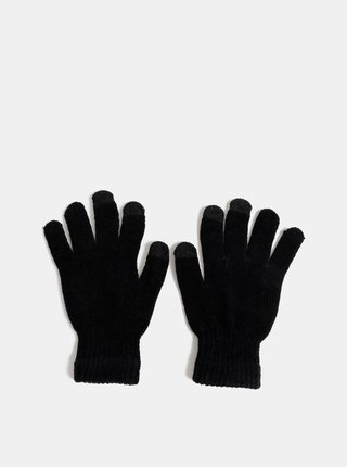 Černé dámské dotykové rukavice Haily´s Sally