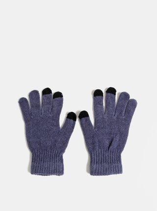 Modré dámske rukavice Haily´s Sally