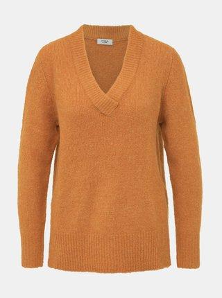Oranžový svetr Jacqueline de Yong Adina