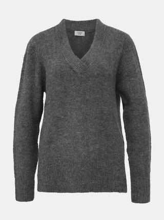 Šedý sveter Jacqueline de Yong Adina